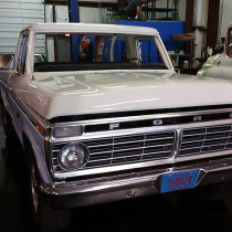 1974 Ranger Windshield Replacement at Full Circle Restorations & Rods LLC in Madison, WI