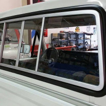 1974 Ford Pickup Truck Rear Back Glass Replacement in Madison, WI