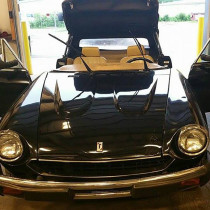 1984 Fiat Spider Windshield Replacement at Janesville, WI repair shop