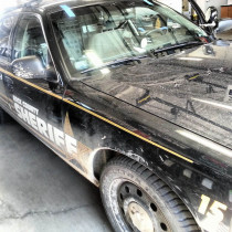 Rock County Sheriff Police Car Windshield Replacement in Janesville, WI